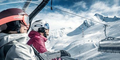 Skiing with the comfort of the new lifts | © Gletscherbahnen Kaprun AG