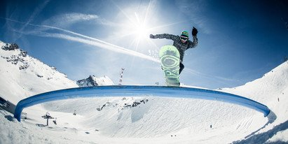 snowboarden and freeski in the snowparks and on the funslopes of Zell am See-Kaprun | © Markus Rohrbacher