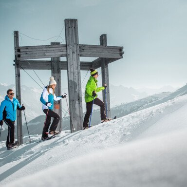 Hiking tour in deep powder snow | © Lienbacher