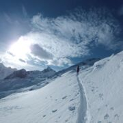 Touring ski holidays with guided tours offside the slopes | © Stephan Obenaus
