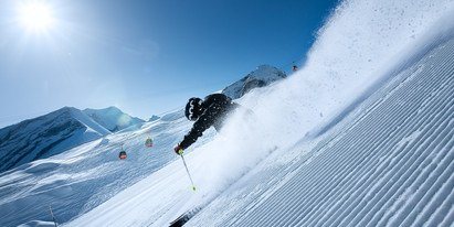Power piste for advanced skiers | © Kitzsteinhorn