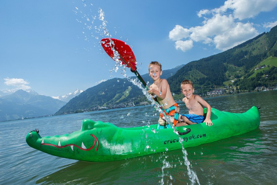 Family holiday and water sports Zell am See-Kaprun