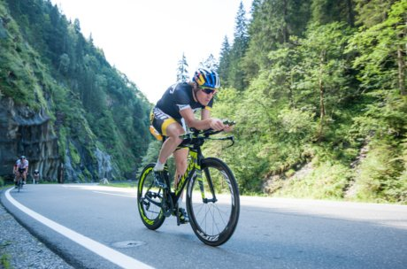Sebastian Kienle while exercising  | © Zell am See-Kaprun Tourismus