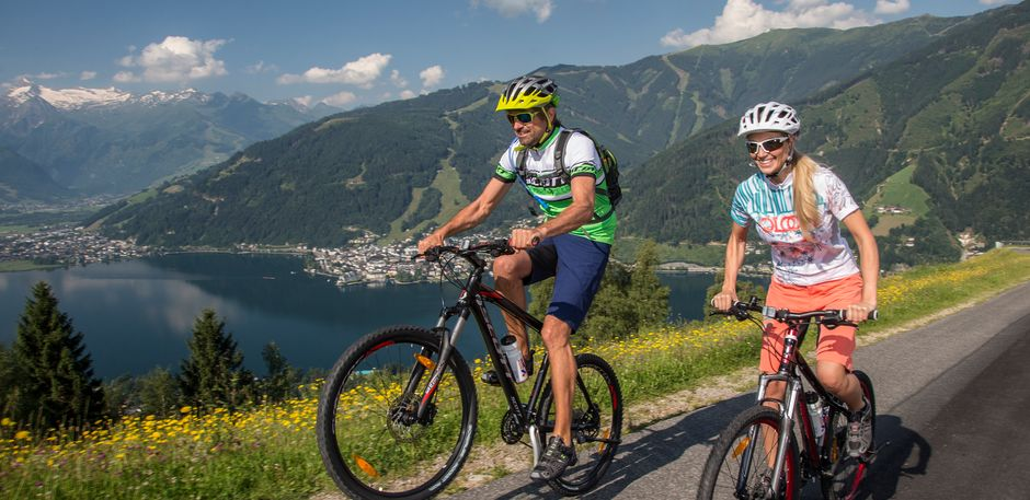 cycling in Zell am See-Kaprun | © Faistauer Photography