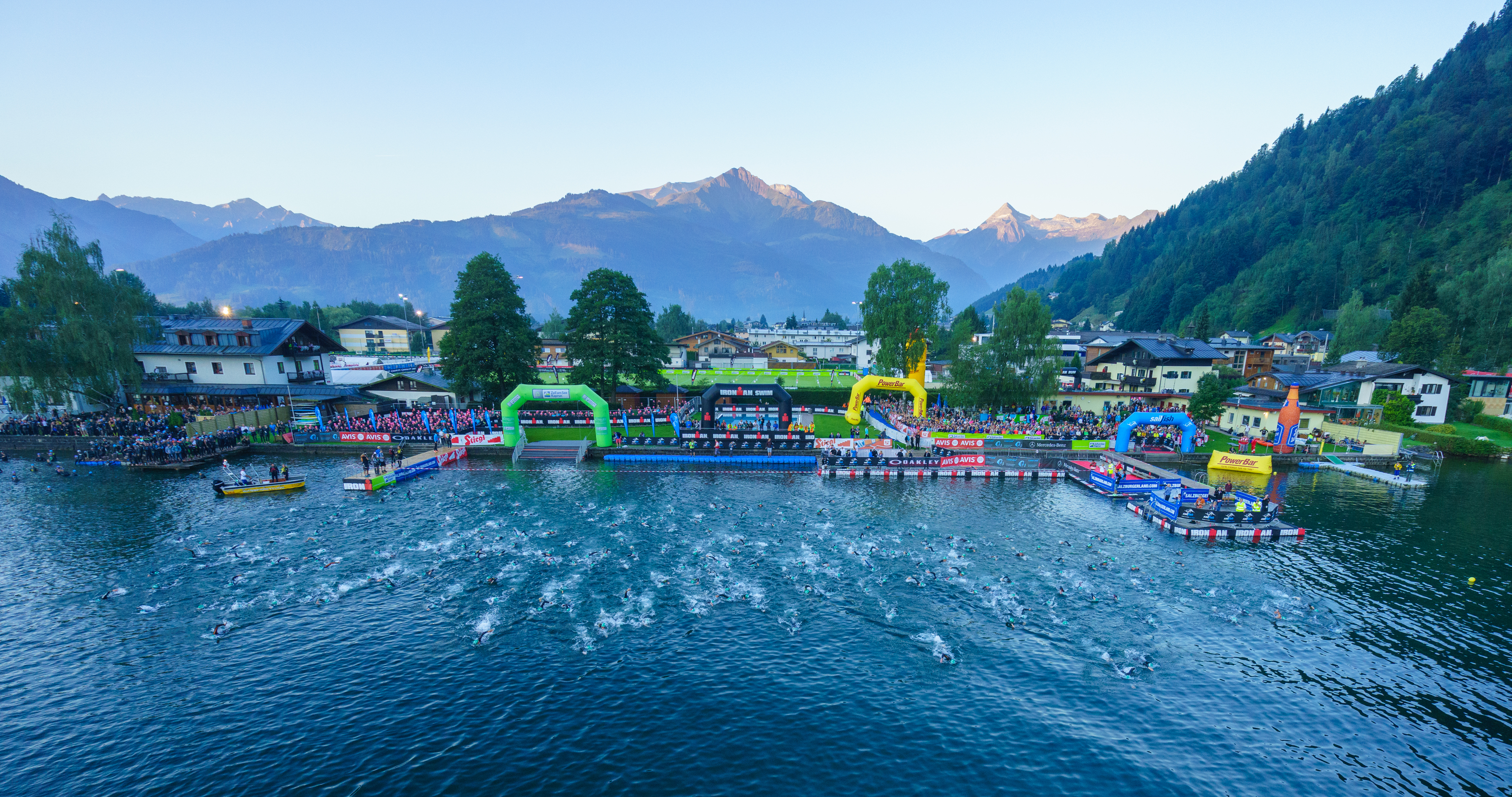 The 6th Ironman is staged in Zell am See-Kaprun on THE triathlon event in the Salzburger Land with swimming, running and cycling in beautiful nature.