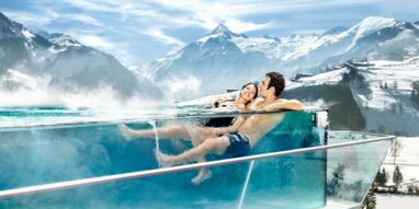 Rooftop Pool beim Tauern SPA | © Tauern SPA