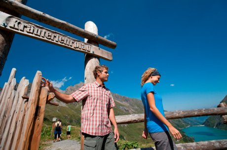 Zell am See-Kaprun herbs natural trail in summer holiday | © Verbund