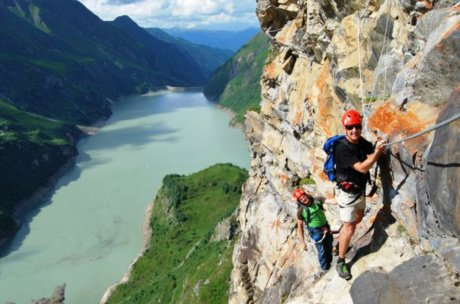 climbing path holiday highlight Zell am See-Kaprun | © Verbund