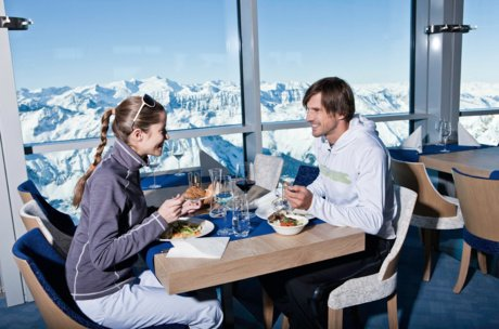 Cuisine on the Kitzsteinhorn glacier, Salzburg | © Bock