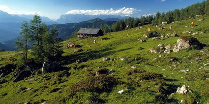 unspoilt landscape in the national park High Tauern | © Nationalpark Hohe Tauern