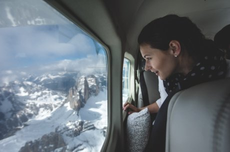 View on an alpine flight | © zellair