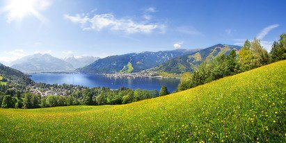 view over lake Zell | ©  Radlberger