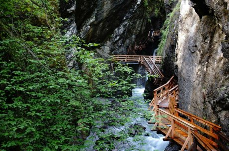 excursion destination Salzburg, Sigmund Thun Gorge | © Bernhard Gritsch