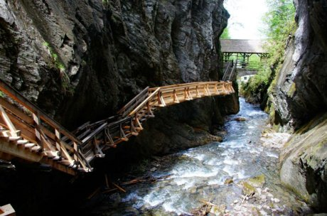 Holiday excursion destination in Zell am See-Kaprun, Sigmund Thun Gorge | © Bernhard Gritsch