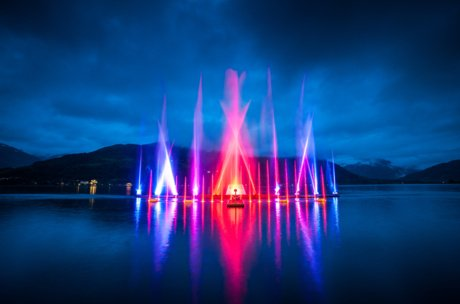 light and laser show | © Zell am See-Kaprun Tourimsus