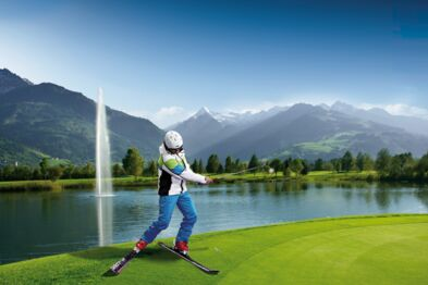 ski holiday and golf holiday combined in one | © Zell am See-Kaprun Tourismus