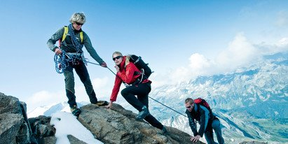 guided hiking tour to the top of the Kitzsteinhorn glacier | © Kitzsteinhorn