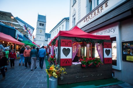 Abendliches Fest in Zell am See | © Zell am See-Kaprun Tourismus
