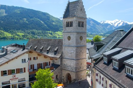 Church tower Zell am See | © Faistauer Photography