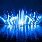 Laser show on lake Zell | © Zell am See-Kaprun Tourismus
