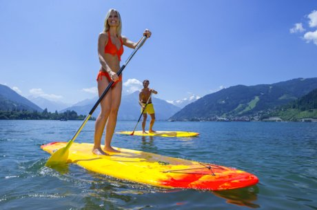 Stand-Up Paddle Paar | © Zell am See-Kaprun Tourismus GmbH