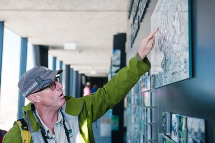 guided tours with Werner   © Daniel Gollner