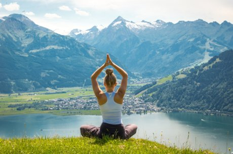 Bergyoga in Zell am See-Kaprun | © Edith Danzer