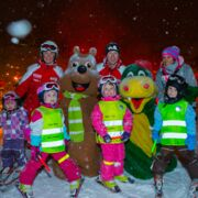 Glow worms ski run - ski race for kids | © Zell am See-Kaprun Tourismus