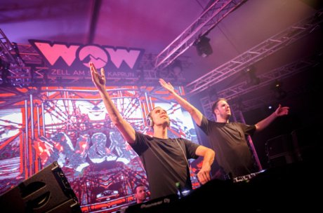 WOW Glacier Love Festival mit W&W | © Artisual