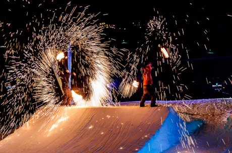 Skishow Kaprun | © EXPA Pictures