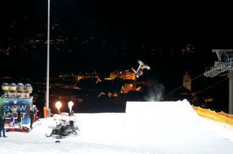 Skishow in Zell am See in the night | © Zell am See-Kaprun Tourismus