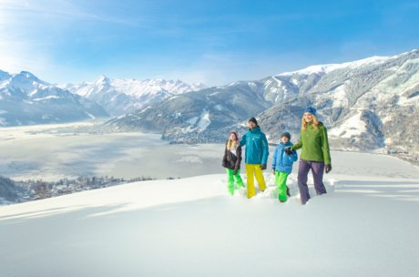 family holiday in winter in Zell am See-Kaprun, Austria | © Zell am See-Kaprun Tourismus