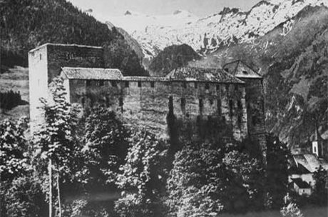 defensive wall of castle Kaprun | © Burgverein Kaprun