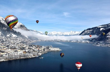 balloonalps  - hot air ballons above lake Zell | © balloonalps.com