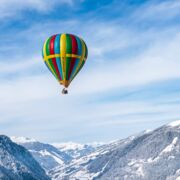 Hotairballoon in the Alps at the balloonalps | © Jürgen Feichter