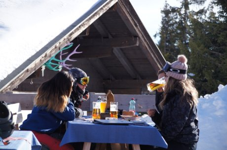 A special day of th skiing huts in Zell am See-Kaprun | © Stephan Obenaus
