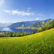 view over lake Zell | © Radlgruber