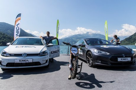 E cars in Zell am See-Kaprun | © ionica.energy