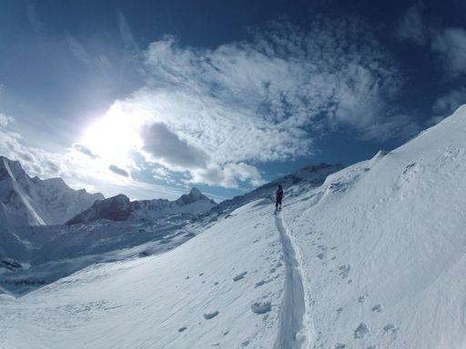Guided ski tour to Tristkogel