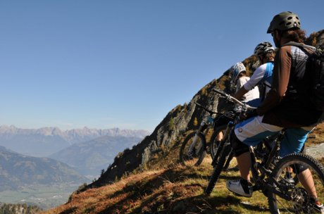 mountainbiking in Zell am See-Kaprun