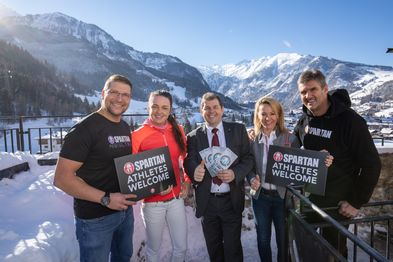partan Athletes Welcome  | © Zell am See-Kaprun Tourismus