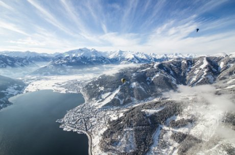 hot air ballooning above Zell am See-Kaprun | © Zell am See-Kaprun Tourismus