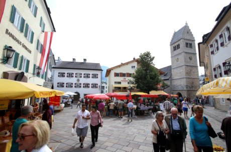 Market Zell am See | ©  Stadtmarketing Zell am See e.V.