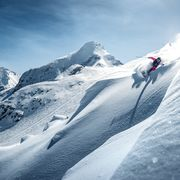 Freeride at the Glacier in Zell am See-Kaprun | © Freeride at Kitzsteinhorn