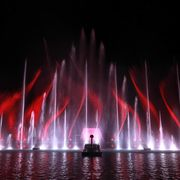 Water, light, music and laser show | © Zell am See-Kaprun Tourismus GmbH
