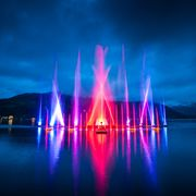 water, light, music and lasershow in Zell am See-Kaprun | © Zell am See-Kaprun Tourismus GmbH