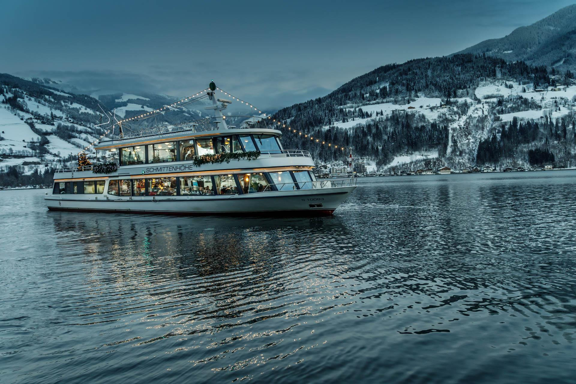 Starlight cruises on lake Zell - 14/12/2019, from 1:30 PM