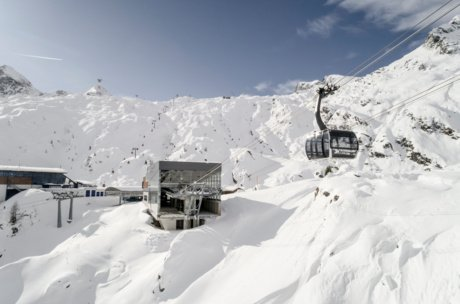 The direct connection between Kaprun and Kitzsteinhorn | © artisual