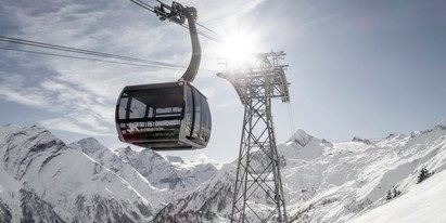 New cable car in Zell am See-Kaprun: From the village of Kaprun to the glacier | © artisual