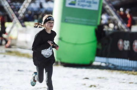 Winter obstacle run-event for kids in Austria | © Branislav Rohal